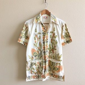 '70s / Indonesian Button Down